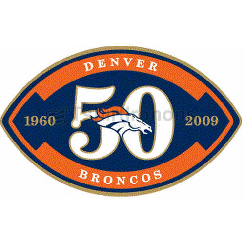 Denver Broncos T-shirts Iron On Transfers N508