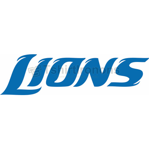 Detroit Lions T-shirts Iron On Transfers N514