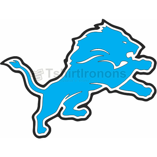 Detroit Lions T-shirts Iron On Transfers N516