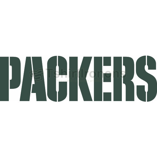Green Bay Packers T-shirts Iron On Transfers N524
