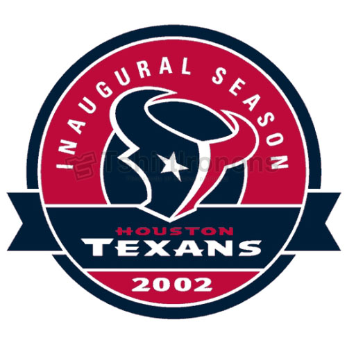 Houston Texans T-shirts Iron On Transfers N534