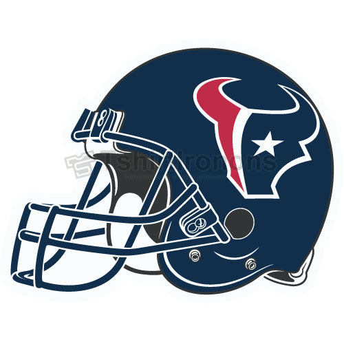 Houston Texans T-shirts Iron On Transfers N537