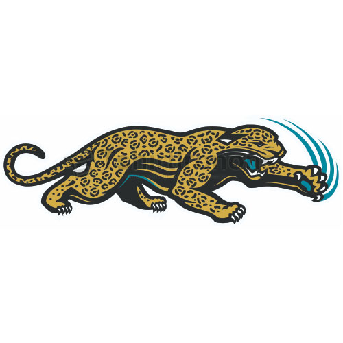 Jacksonville Jaguars T-shirts Iron On Transfers N555