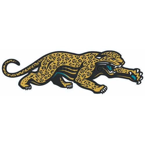 Jacksonville Jaguars T-shirts Iron On Transfers N558