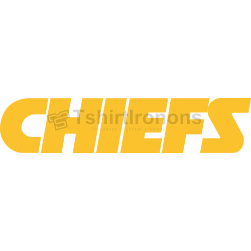 Kansas City Chiefs T-shirts Iron On Transfers N567