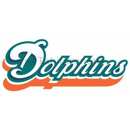 Miami Dolphins T-shirts Iron On Transfers N575