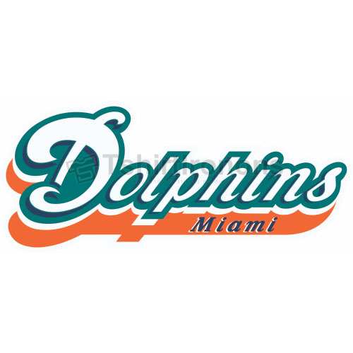 Miami Dolphins T-shirts Iron On Transfers N577