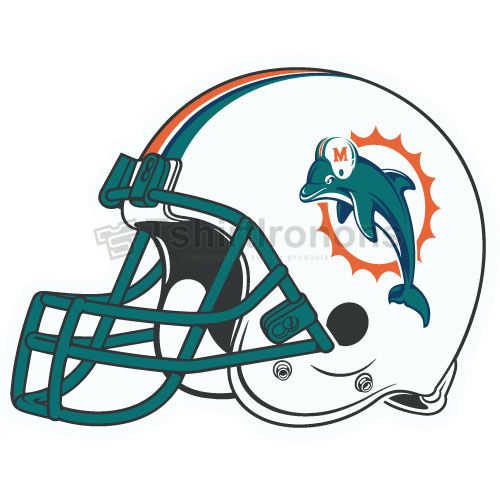 Miami Dolphins T-shirts Iron On Transfers N585