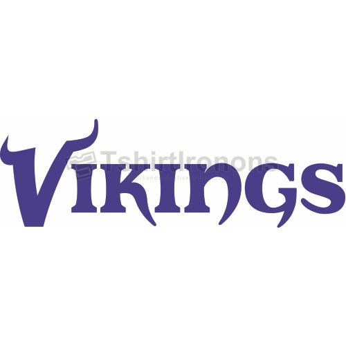 Minnesota Vikings T-shirts Iron On Transfers N589