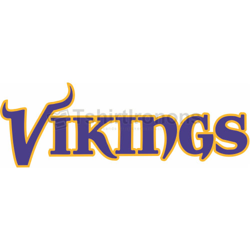 Minnesota Vikings T-shirts Iron On Transfers N590