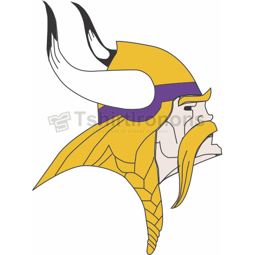 Minnesota Vikings T-shirts Iron On Transfers N591