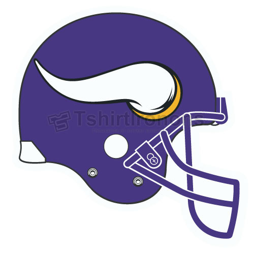 Minnesota Vikings T-shirts Iron On Transfers N595