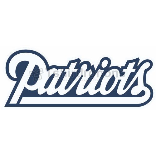 New England Patriots T-shirts Iron On Transfers N597