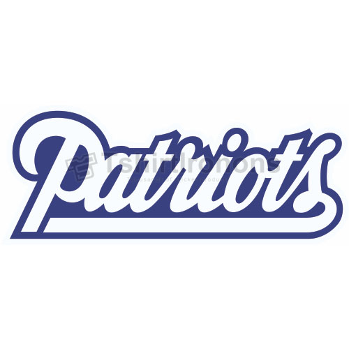 New England Patriots T-shirts Iron On Transfers N598