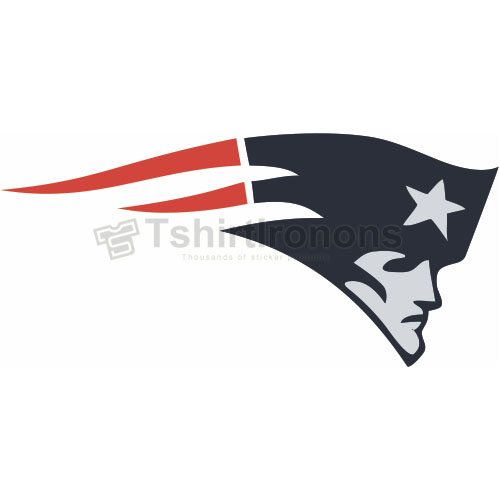 New England Patriots T-shirts Iron On Transfers N599
