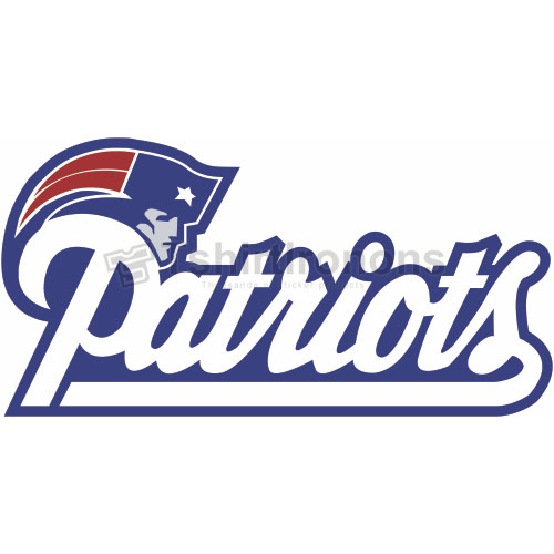 New England Patriots T-shirts Iron On Transfers N602