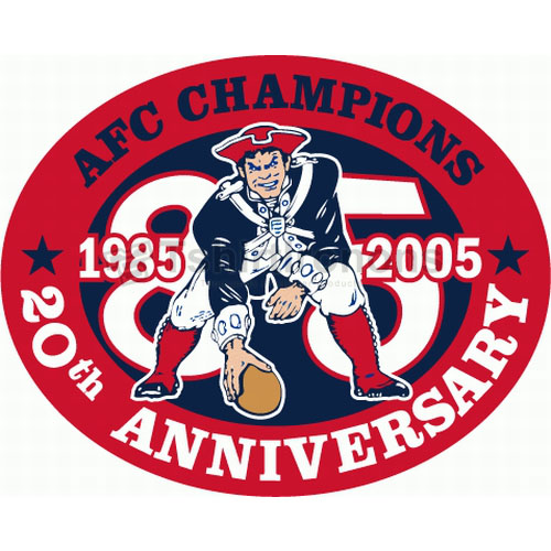 New England Patriots T-shirts Iron On Transfers N605