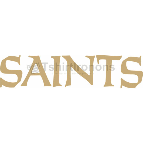 New Orleans Saints T-shirts Iron On Transfers N611