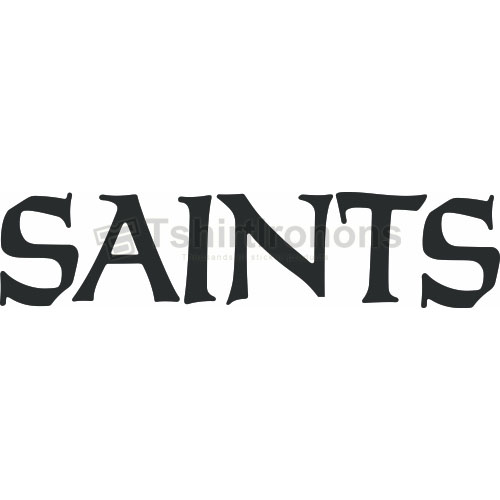 New Orleans Saints T-shirts Iron On Transfers N612