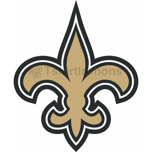 New Orleans Saints T-shirts Iron On Transfers N613