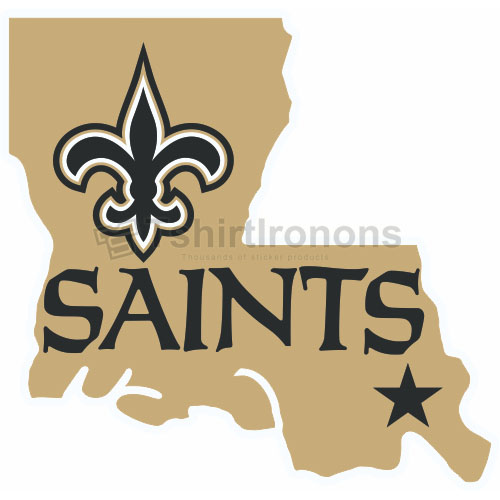 New Orleans Saints T-shirts Iron On Transfers N614