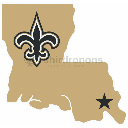 New Orleans Saints T-shirts Iron On Transfers N615