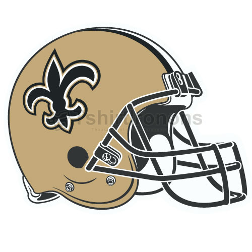 New Orleans Saints T-shirts Iron On Transfers N619