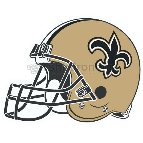 New Orleans Saints T-shirts Iron On Transfers N620
