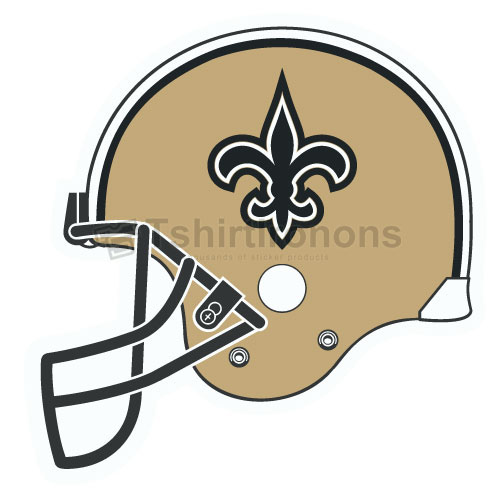 New Orleans Saints T-shirts Iron On Transfers N622