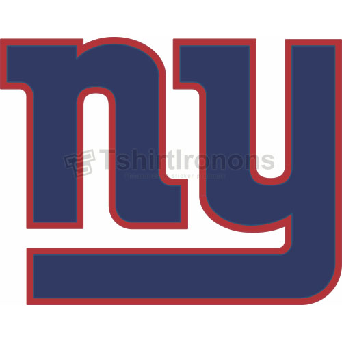 New York Giants T-shirts Iron On Transfers N623