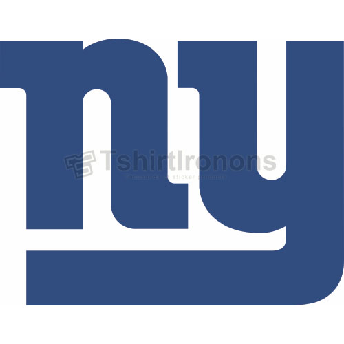 New York Giants T-shirts Iron On Transfers N624