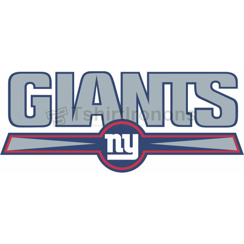 New York Giants T-shirts Iron On Transfers N625