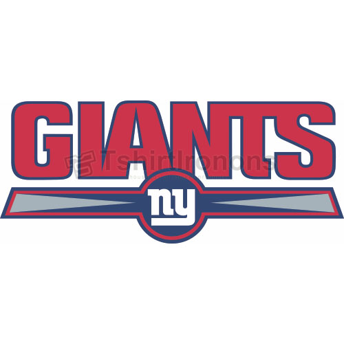 New York Giants T-shirts Iron On Transfers N626