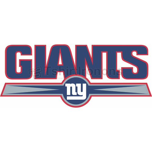 New York Giants T-shirts Iron On Transfers N627