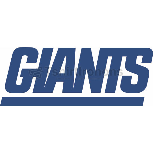 New York Giants T-shirts Iron On Transfers N629