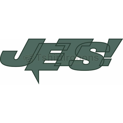 New York Jets T-shirts Iron On Transfers N637