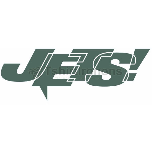 New York Jets T-shirts Iron On Transfers N638