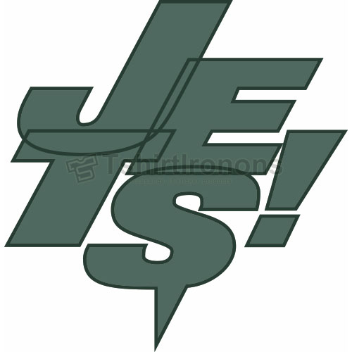 New York Jets T-shirts Iron On Transfers N639