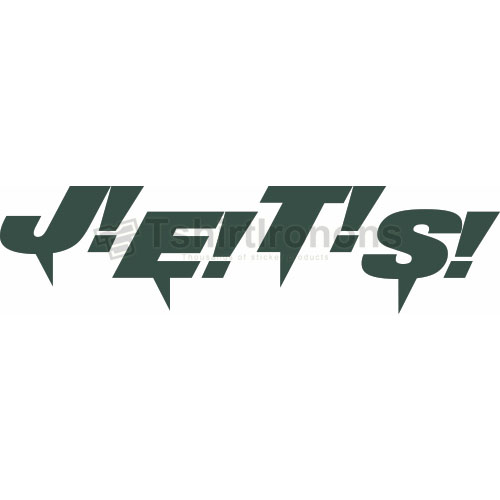 New York Jets T-shirts Iron On Transfers N641