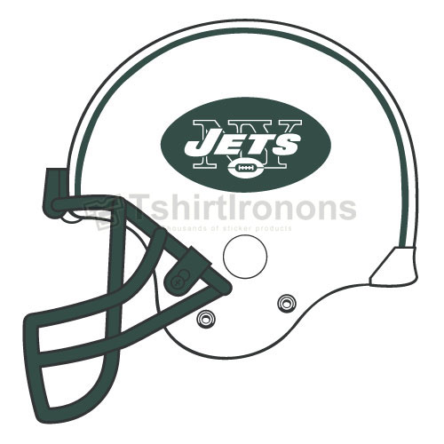 New York Jets T-shirts Iron On Transfers N653