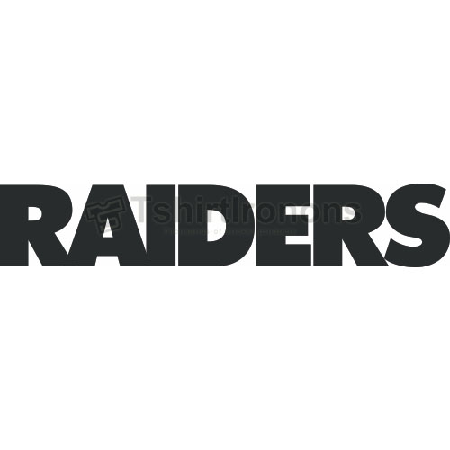Oakland Raiders T-shirts Iron On Transfers N664
