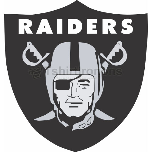Oakland Raiders T-shirts Iron On Transfers N665