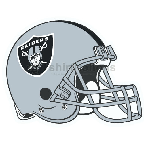 Oakland Raiders T-shirts Iron On Transfers N667