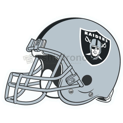 Oakland Raiders T-shirts Iron On Transfers N668