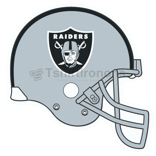 Oakland Raiders T-shirts Iron On Transfers N669