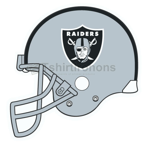 Oakland Raiders T-shirts Iron On Transfers N670