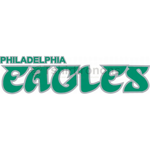 Philadelphia Eagles T-shirts Iron On Transfers N674