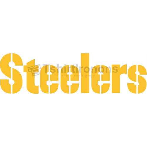 Pittsburgh Steelers T-shirts Iron On Transfers N681