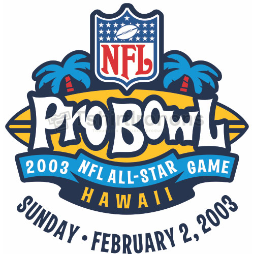 Pro Bowl T-shirts Iron On Transfers N692