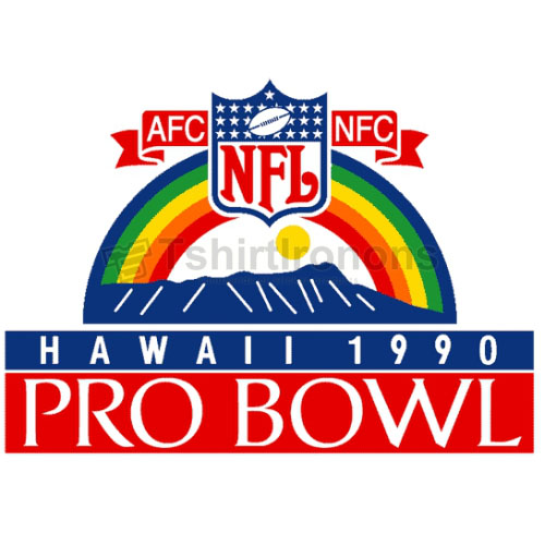 Pro Bowl T-shirts Iron On Transfers N710